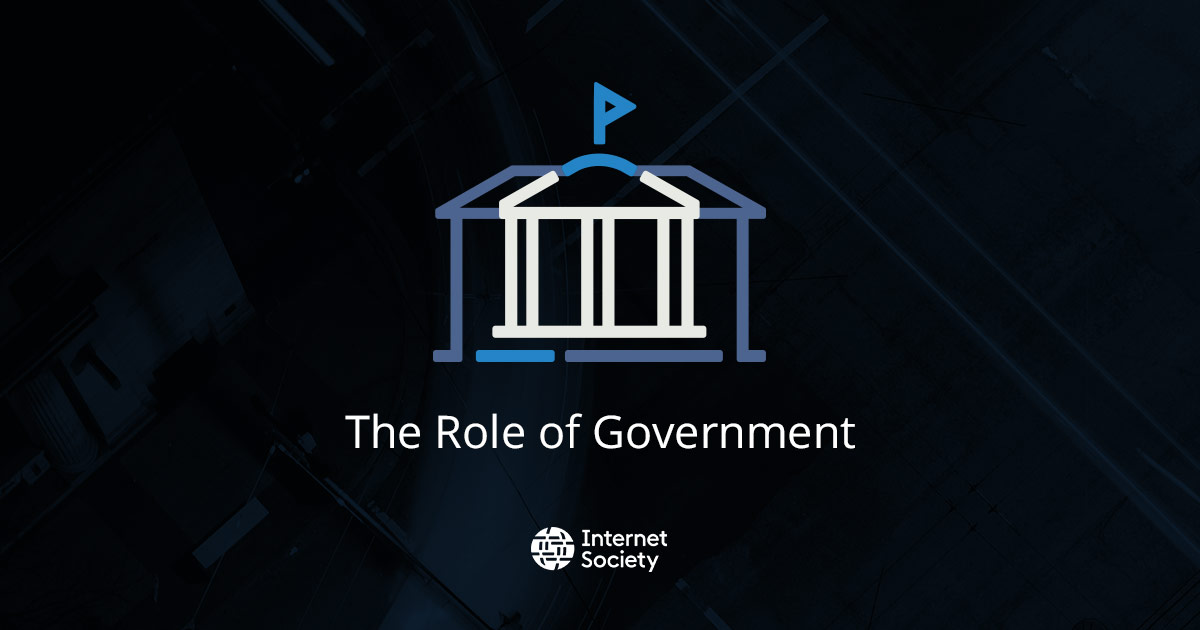The Role of Government - Paths to our Digital Future Report